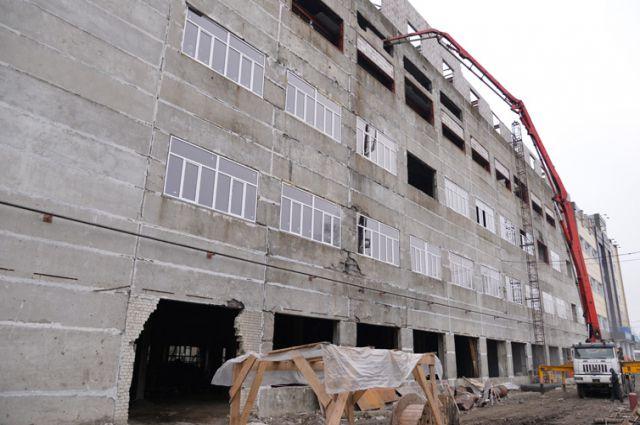 Здание промышленного парка в Брянске.