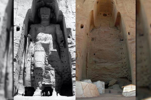 В 2001 году движение «Талибан» уничтожило две древние статуи Будды, вырезанные в скале в долине Бамиан в Афганистане. Статуям было 1 700 лет, это были самые высокие памятники Будде. В ЮНЕСКО планировали восстановить памятники, однако это решение вызвало массу споров, и в итоге так и не было выполнено.