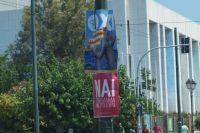 Агитационные плакаты в Афинах перед референдумом.