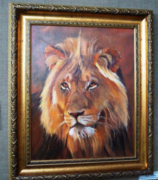 Царь зверей - символ востока ближнего