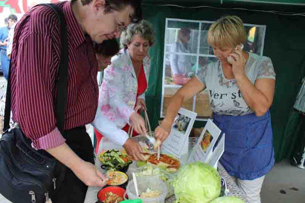 Дегустация блюд из капусты собирала много народа