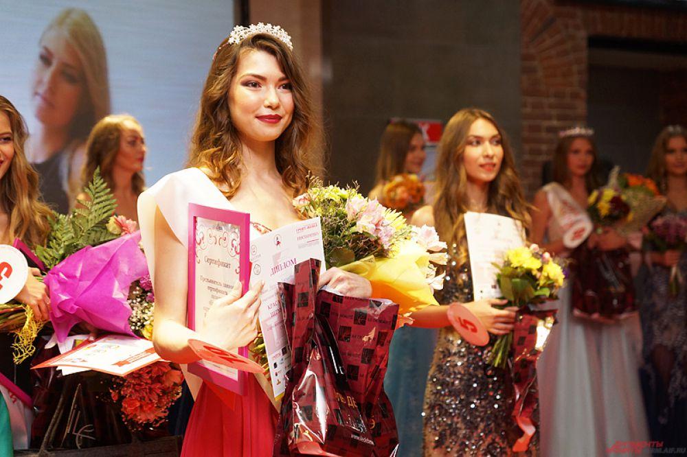 Первой вице-мисс стала Наталья Хасянова.