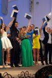 Самым массовым в этом году стал выпуск Института социально-гуманитарных технологий и коммуникаций - сразу 400 выпускников.
