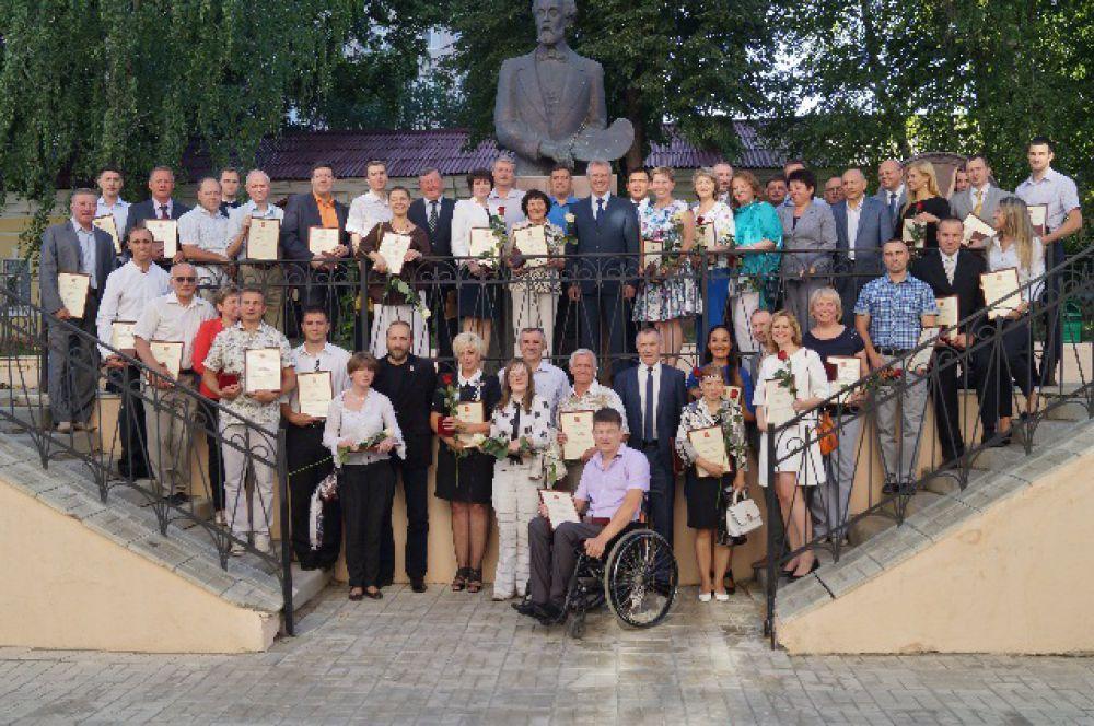 Всего медали эстафеты Олимпийского огня получили более 40 пензенцев