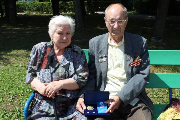 Семья Варнаковых. Их брак длится 52 года.