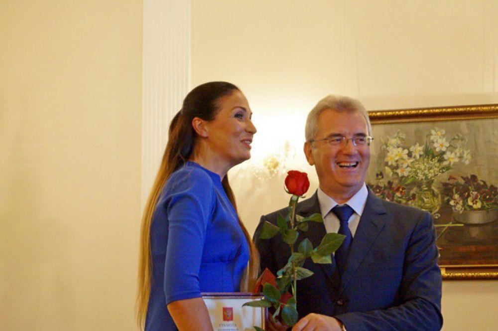 Директор Центра инноваций социальной сферы Марина Тарасова пожелала всем здоровья