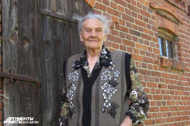Надежда Ситникова с семьей приехала в Полесский район вторым по счету эшелоном.