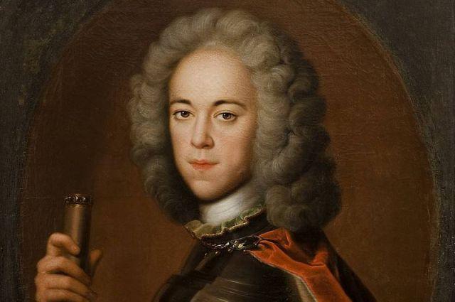 «Портрет царевича Алексея Петровича в латах». Холст, масло, 1710 - 1718 гг.,