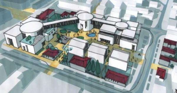 Центральная часть Иркутска все еще остается проблемой. Несмотря на перестройку китайского рынка, район Торгового комплекса все еще нельзя назвать современным и удобным. Новая архитектура позволит вписать в город более эргономичные формы.