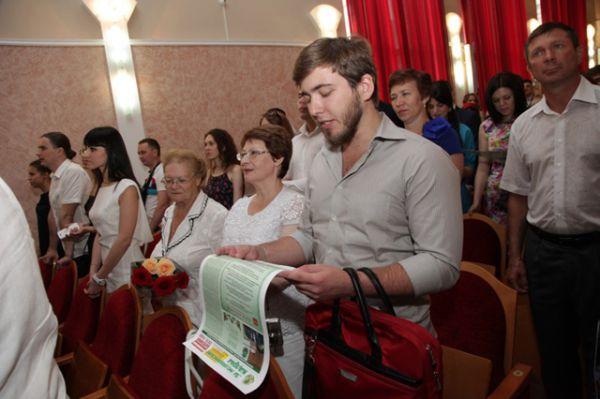 Выпускники ВолгГМУ 2015 дают Клятву врача России.