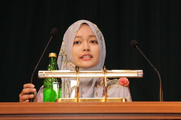 Слова благодарности от выпускницы ВолгГМУ доктора медицины Нур Адила Мухаммад Завави (Малайзия).