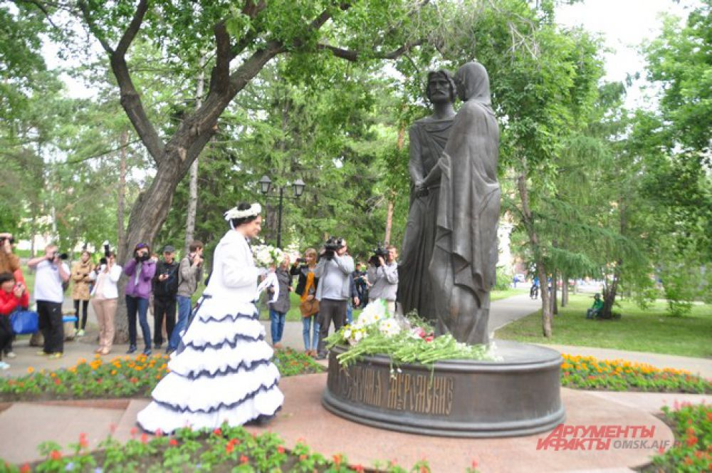 В Омске прошёл День семьи, любви и верности.