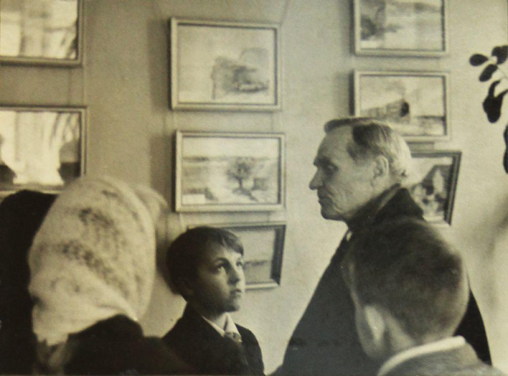 Встреча с художником Петром Паниным