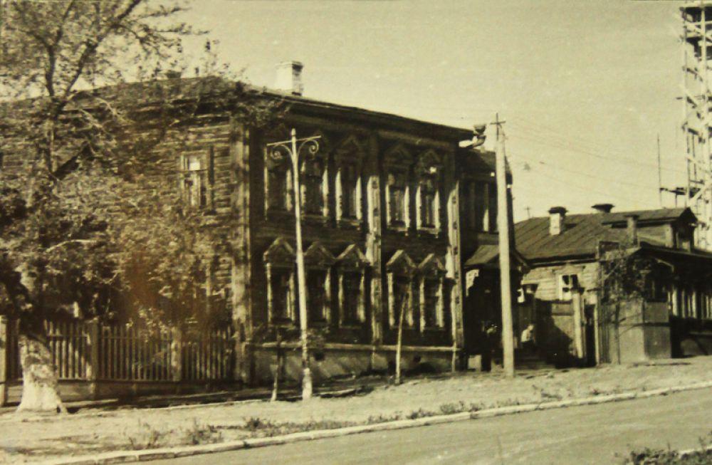 Первое здание художественной школы