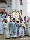 «Виновница» праздника – Тихвинская икона Богородицы.