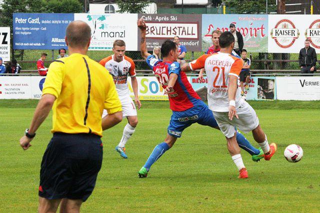 Футболисты «Урала» начали австрийский сбор с поражения