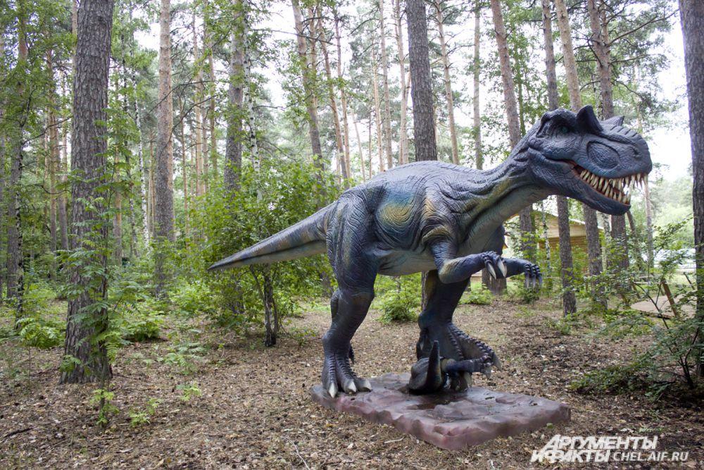 Динозавр Аллозавр – самый крупный и опасный хищник
