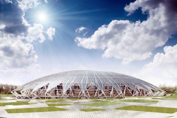Строительство «Cosmos Arena» в Самаре ведется с 2014 года в рамках подготовки к проведению ЧМ-2018. Примерная стоимость проекта - 13,6 млрд рублей. Как ранее сообщил министр спорта РФ Виталий Мутко, сумма контракта может быть увеличена до 16 млрд рублей.