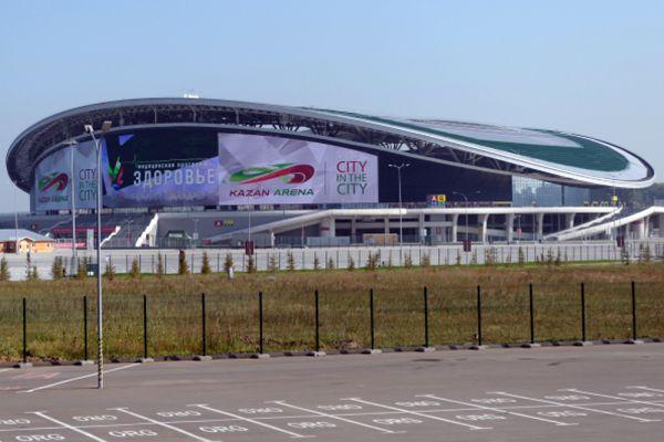 «Казань Арена» была построена к летней Универсиаде 2013 года. После закрытия стадиона«Лужники» на тотальную реконструкцию и до постройки нового стадиона в Санкт-Петербурге, «Казань Арена» будет оставаться самым большим стадионом в России.