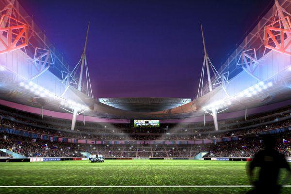 «Зенит-Арена» строится на Крестовском острове с 2006 года за счет бюджета Санкт-Петербурга. Итоговая стоимость объекта составила 34,9 млрд рублей. Сдать его в эксплуатацию планируется в мае 2016 года. Вместимость стадиона составит 69 тысяч зрителей.