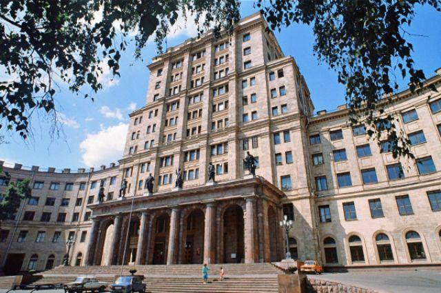 Главное здание Московского государственного технического университета им. Н.Э.Баумана.