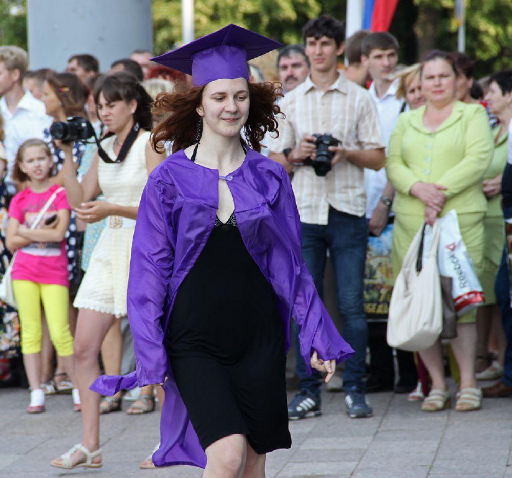 За красным дипломом