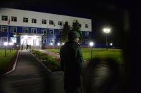 Учебный центр воздушно-десантных войск в посёлке Светлый Омской области, где произошло обрушение здания.