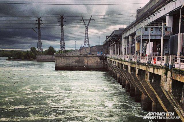 На Новосибирской ГЭС начался ремонт гидроагрегата №6
