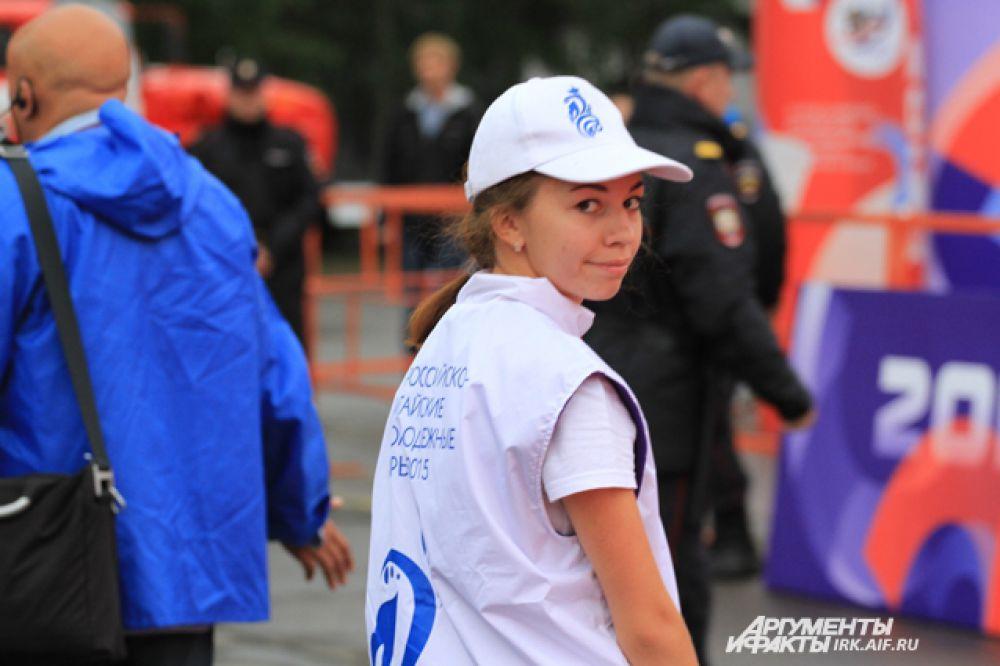 Кстати, на Играх работает большое количество волонтеров.