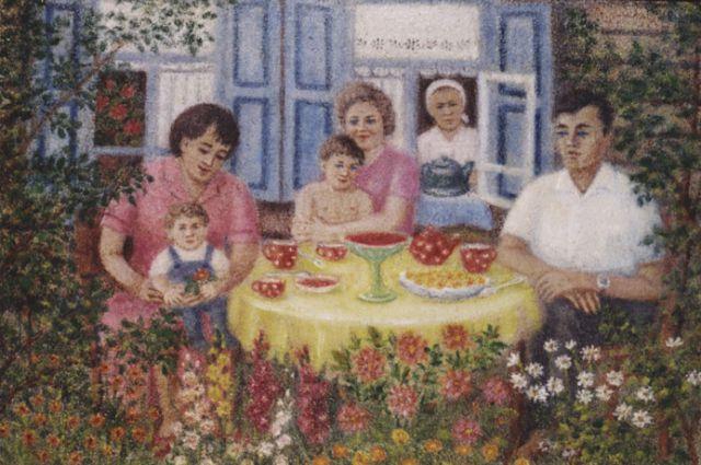 Работа Анны Близеевой.