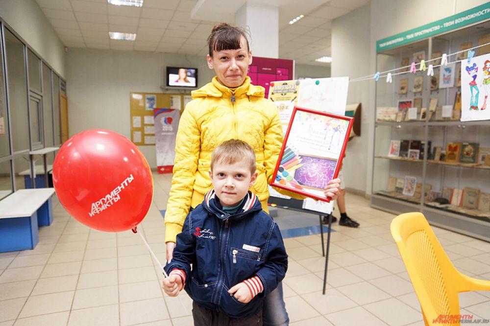 Андрей Дозморов получил диплом за третье место в конкурсе.