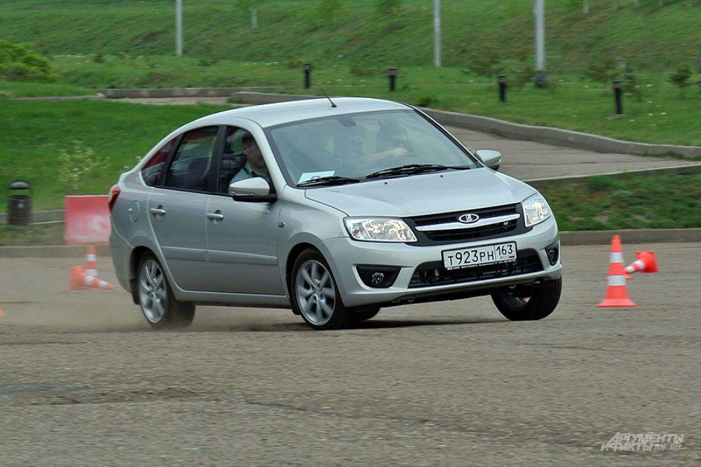 Самой популярной моделью в России оказалась Lada Granta.