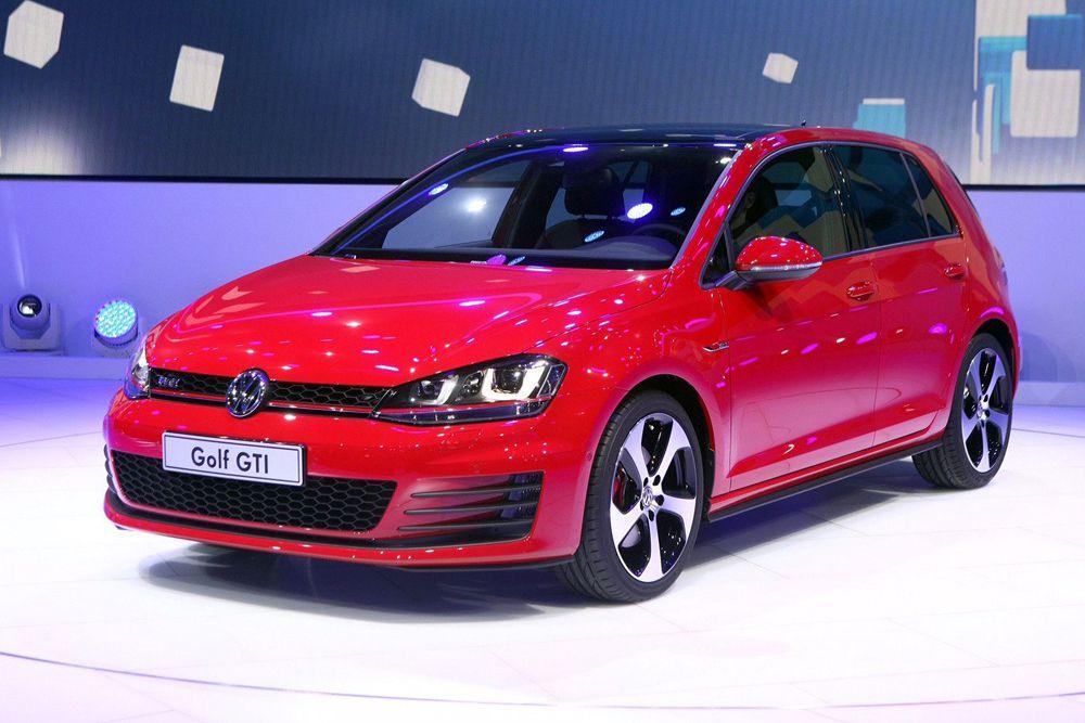 В Европе самой популярной моделью оказался Volkswagen Golf.