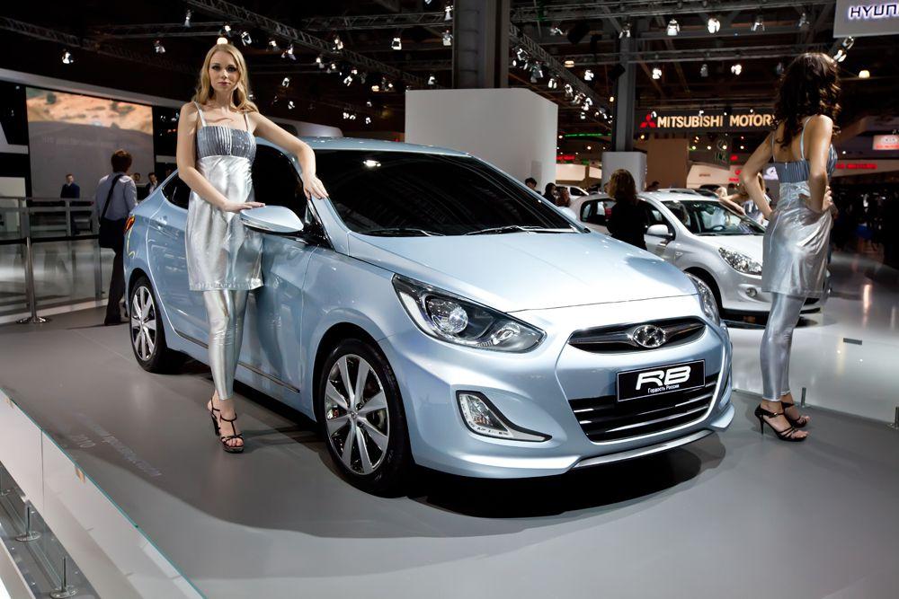На втором месте – Hyundai Solaris.
