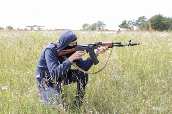 Отработка отражения возможной атаки террористов на ракетный комплекс «Тополь-М».