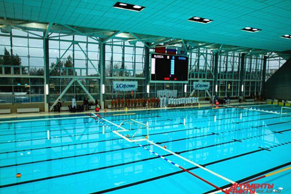 Турнира прошли в бассейне «Солнечный», открытие которого было приурочено к началу Российско-Китайских игр.