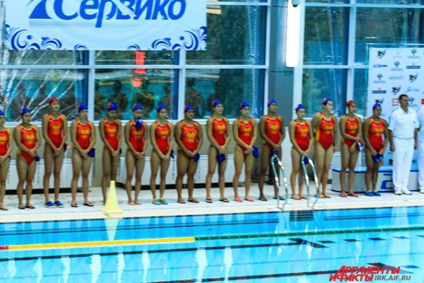 Спортсменки из Китая.