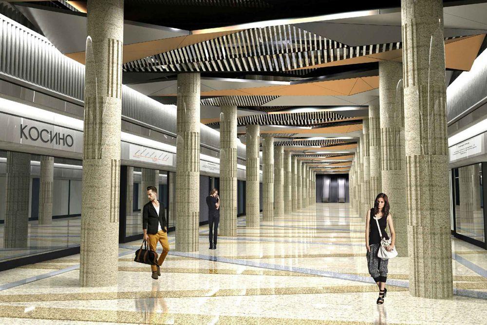 Станция «Косино» (откроется в 2017 году) Кожуховской линии в целях обеспечения безопасности пассажиров будет оснащена стеклянной стеной с раздвижными дверями. Стена отделит край платформы, а соответственно и людей, от железнодорожных путей. Также станция будет оснащена лифтами для маломобильных граждан. Ее пассажиропоток составит 100 тысяч человек в сутки. В будущем возле станции планируется размещение транспортно-пересадочного узла.