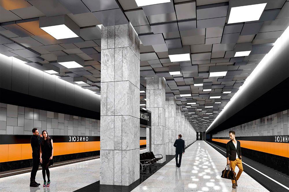 Станция «Севастопольский проспект» («Зюзино») Третьего пересадочного контура откроется в 2018 году. В данный информации об особенностях станции нет, но логично предположить, что она также будет оборудована лифтами для маломобильных пассажиров.