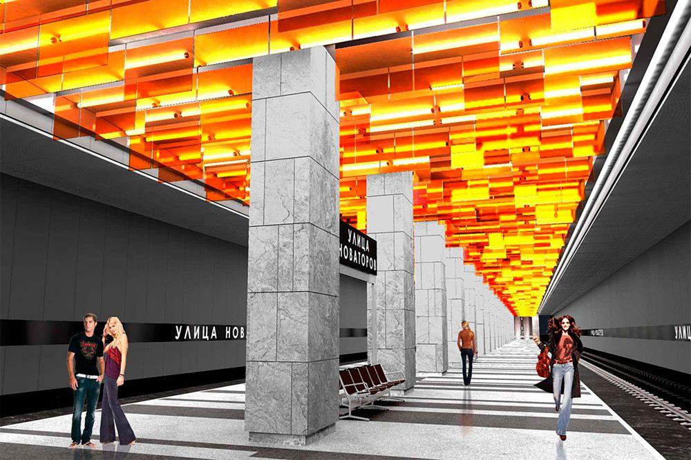 Станция «Улица Новаторов» Третьего пересадочного контура откроется в 2018 году. Станция в перспективе может стать пересадочной на проектируемую линию метрополитена. Эта линия потянется от Третьего пересадочного контура в поселение Сосенское (ТиНАО).
