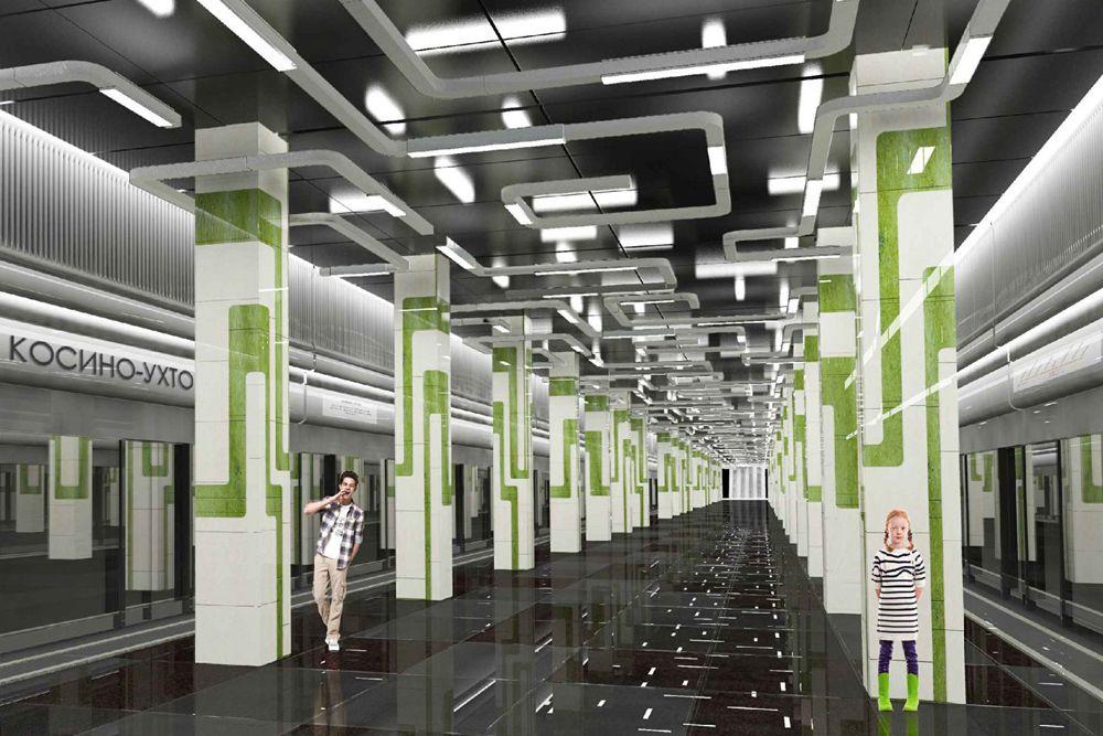 Станция «Лухмановская» Кожуховской линии откроется в 2017 году. Станция является элементом проектируемого транспортно-пересадочного узла (ТПУ). Особенности дизайна станции: В целях обеспечения безопасности пассажиров края платформы отделены от путей стеклянной стеной с раздвижными дверями, открывающимися синхронно с дверями вагонов. Станция будет оснащена лифтами для маломобильных граждан Пассажиропоток: 160 тысяч человек в сутки.