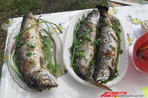 Камчатская рыбка.