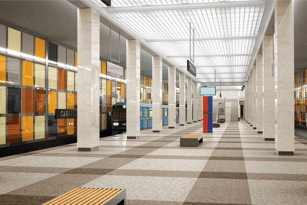 Станция «Саларьево» Сокольнической линии также появится в 2015 году. Деревня Саларьево сегодня, хотя и находится за МКАД, относится к Москве. В районе живет более 200 тысяч человек. Станция «Саларьево» станет конечным пунктом Сокольнической линии метро. Здесь же запланировано строительство крупного транспортно-пересадочного узла, чтобы жители близлежащих районов Москвы и Подмосковья, оставив личные автомобили, могли пересесть на метро.