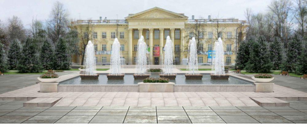 Парк у ДК Саид-Галиева
