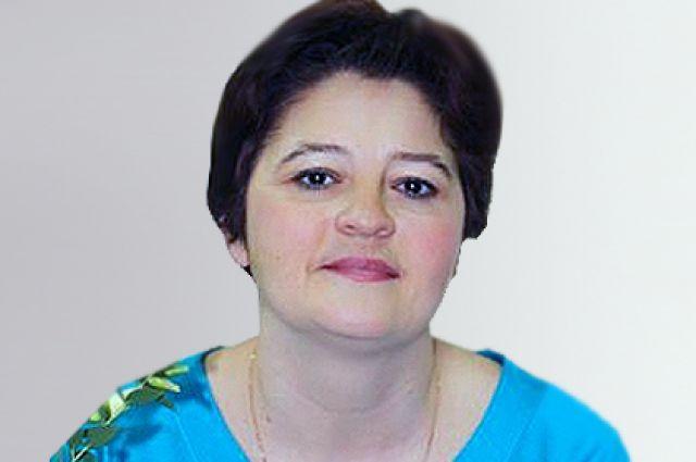 Марина Шестакова.