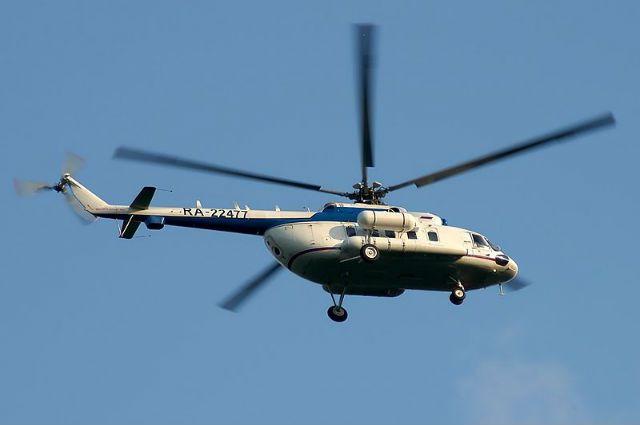 Вертолет Ми-8 потерпел крушение в Су