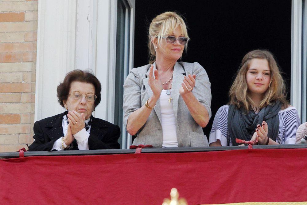 Дочь Антонио Бандераса и Мелани Гриффит – Стелла дель Кармен Бандерас Гриффит.