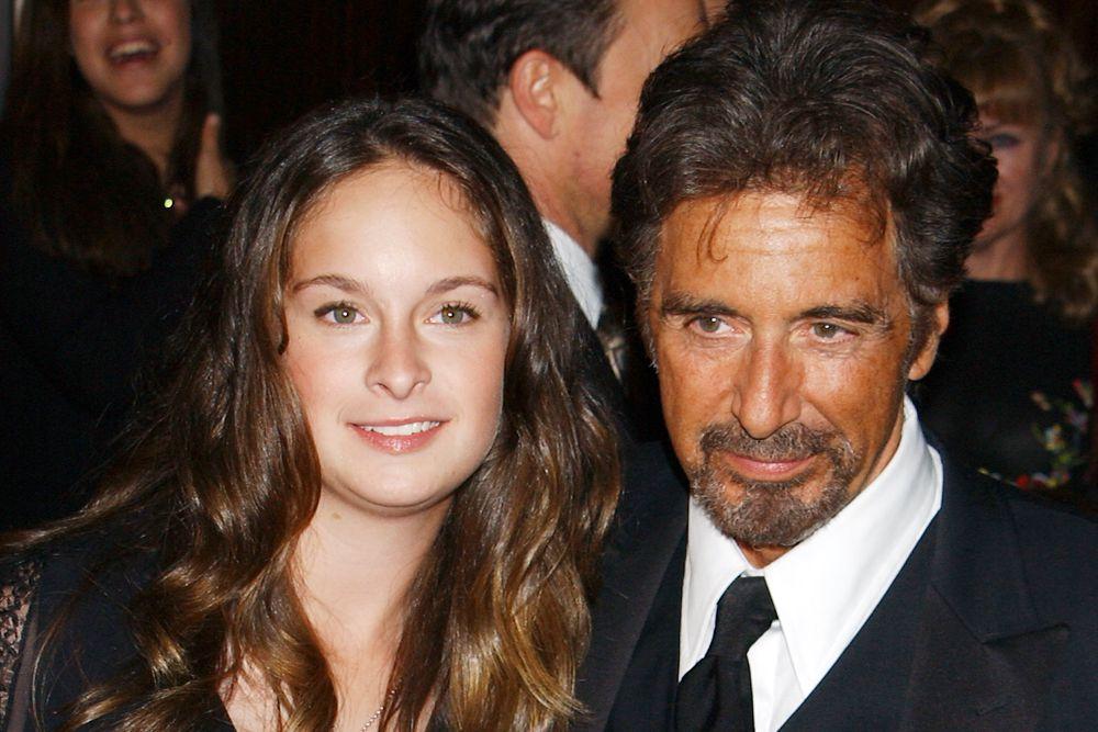 Джулия Мария Пачино с отцом.