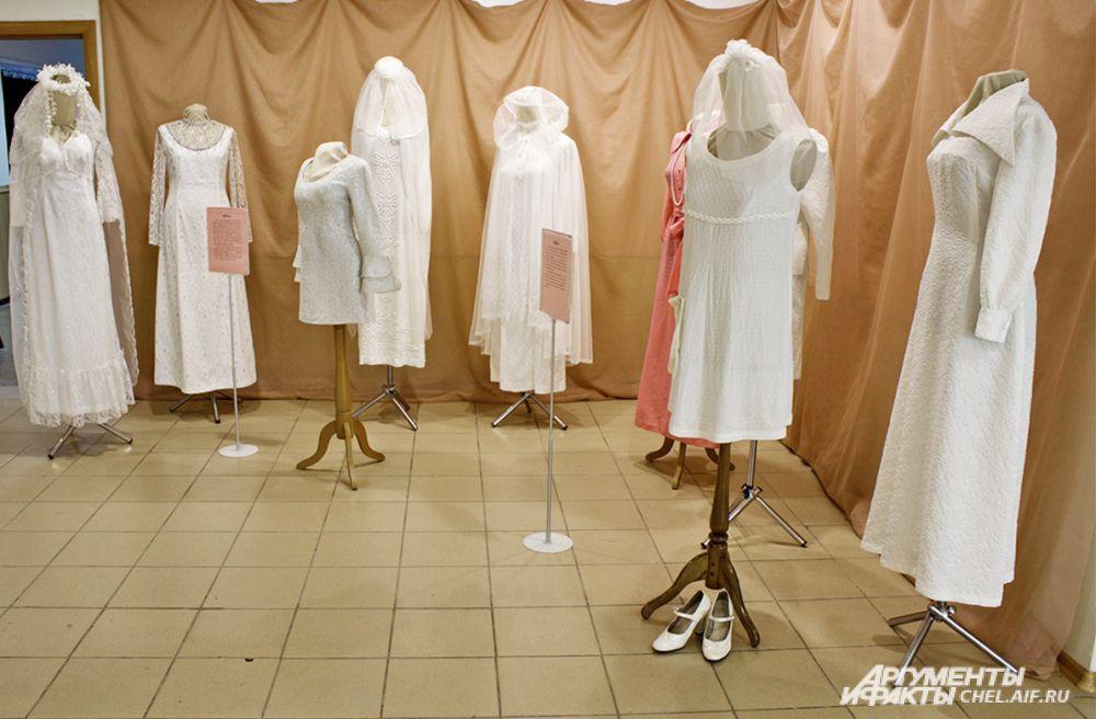Платья 70-80-х годов ХХ века.