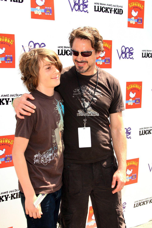 Сын Роберта Дауни (младшего) – Индио.